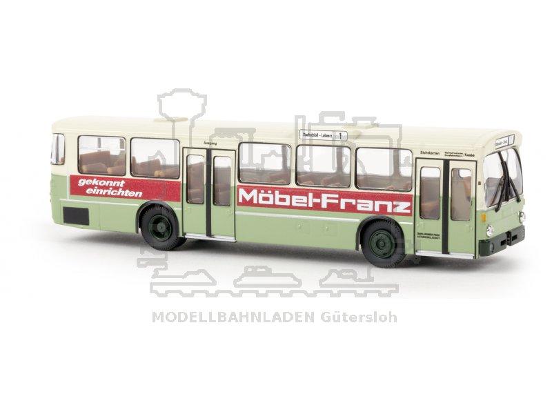 Fulda M Bel mb o 305 stadtbus fulda möbel maßstab 1 87 spur h0 brekina gmbh 50743