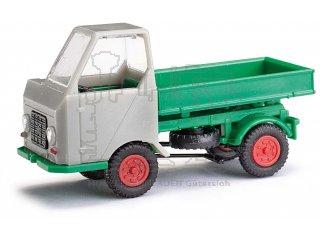 Modell 1:87 H0 Busch Mehlhose 210003501 Multicar Muldenkipper M22 Blau//Grau