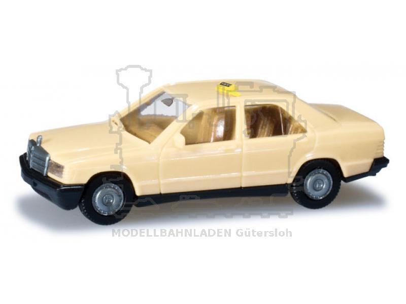 Minikit MB 190 E Taxi Maßstab 1:87/ Spur H0 Herpa ...