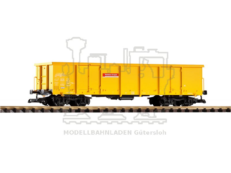 G-Offener Drehgestellwagen Eaos Bahnbaugruppe Piko 37741