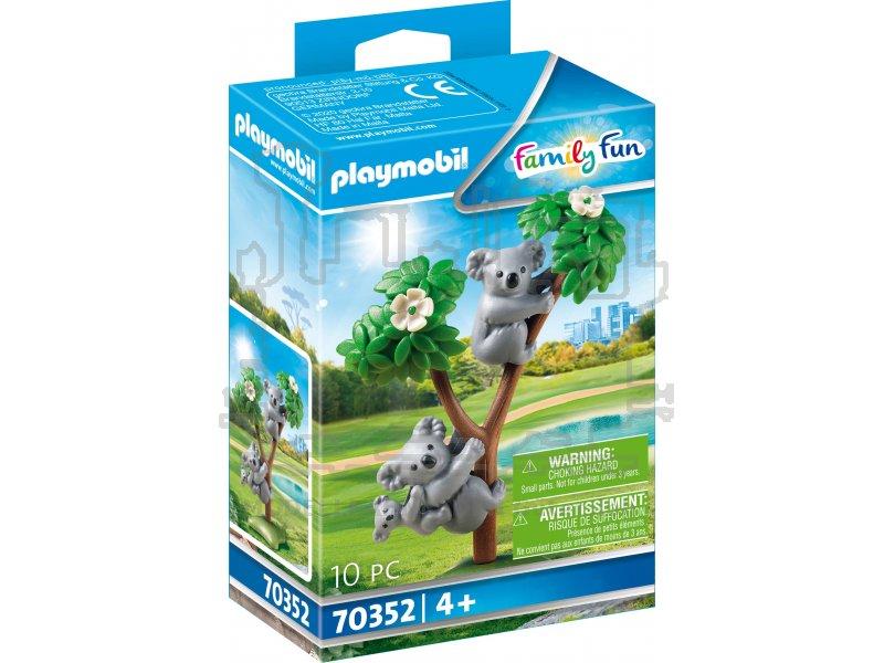 2 koalas mit baby empfohlen ab 4 jahren. playmobil (r) 70352