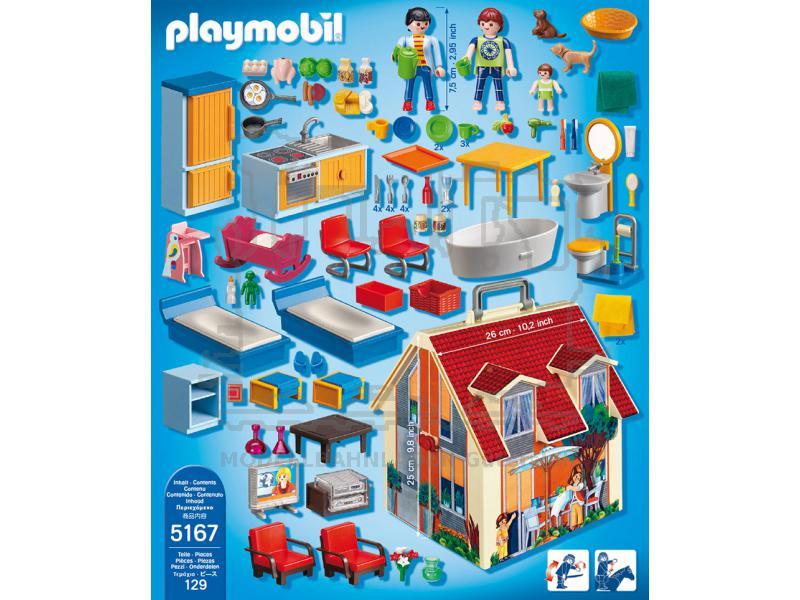 neues mitnehm puppenhaus ab 4 jahren playmobil r 5167. Black Bedroom Furniture Sets. Home Design Ideas